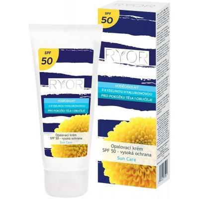 Ryor opalovací krém SPF 50 - vysoká ochrana Sun Care