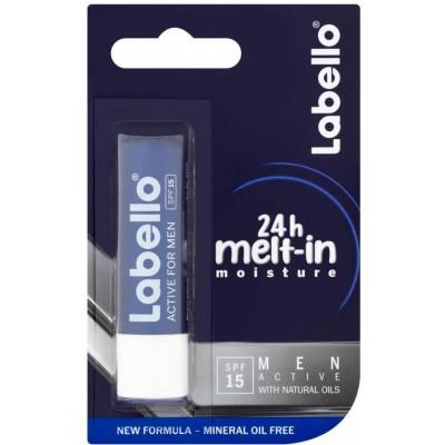 Labello Men active balzám na rty 4,8 g