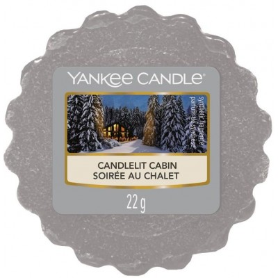 Yankee Candle Vosk do aromalampy Candlelit Cabin 22 g