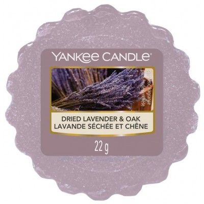 Yankee Candle Vosk do aromalampy Dried Lavender & Oak 22 g