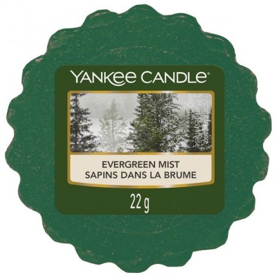 Yankee Candle Vosk do aromalampy Evergreen Mist 22 g