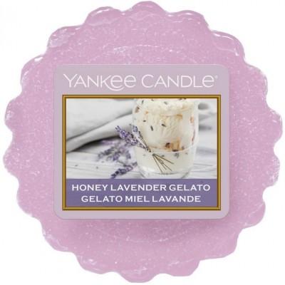Yankee Candle Vosk do aromalampy Honey Lavander Gelato 22 g