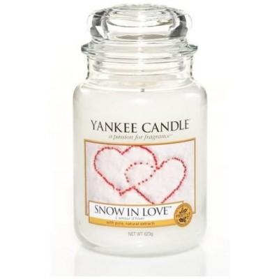 Yankee Candle Vonná svíčka Snow In Love 623 g