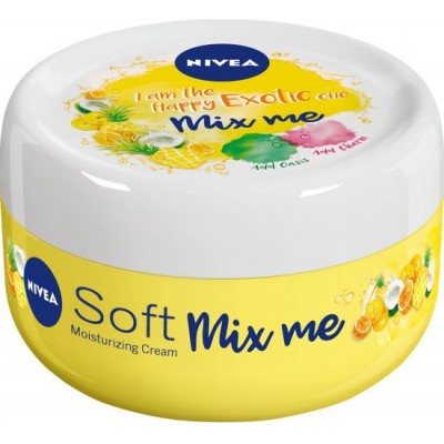 Nivea Svěží hydratační krém Soft Mix Me Happy Exotic 100 ml