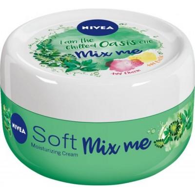 Nivea Svěží hydratační krém Soft Mix Me Chilled Oasis 100 ml