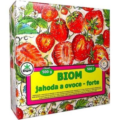 Biom jahoda a ovoce - forte 500g