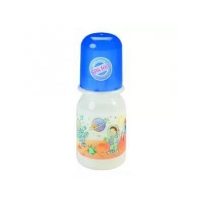 Baby-Nova plastová kojenecká láhev 125 ml
