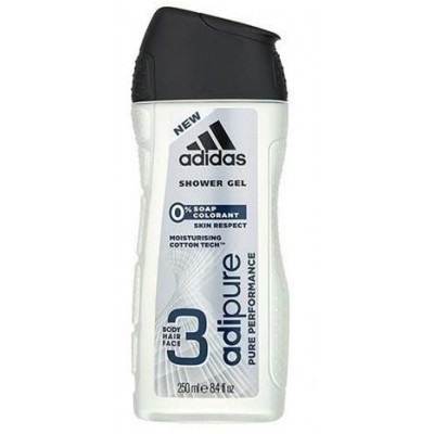 Adidas Sprchový Gel Men Adipure 250 ml