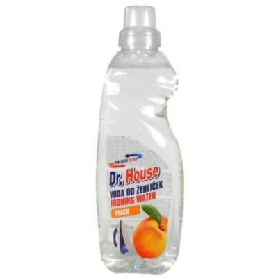 Dr.House Voda do žehliček Broskev 1l