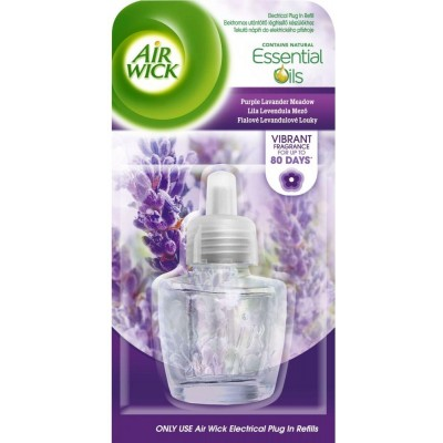 Air Wick Electric Fialové levandulové louky náhradní náplň 19 ml