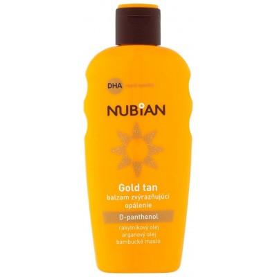 Nubian Gold Tan balzám zvýrazňující opálení 200 ml