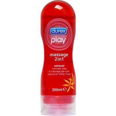 DUREX PLAY lubrikační gel 2v1 Smyslný 200 ml