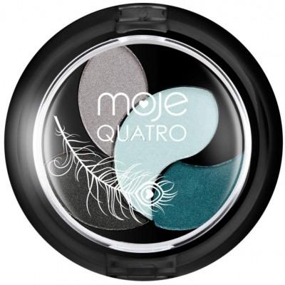 Moje Hedvábně jemné oční stíny Quatro 4 g