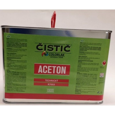 Colorlak Aceton technický 4 l