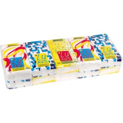RollPap Papírové kapesníčky 3-vrstvé, 1 x 10 ks