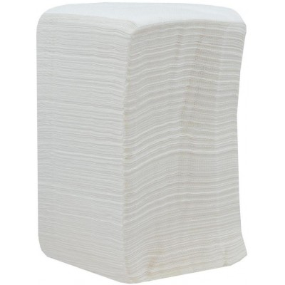 RollPap Gastro ubrousky, bílá, 1-vrstvé, 500 ks