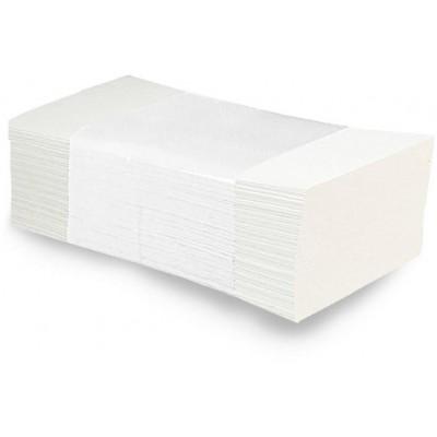RollPap Papírové ručníky skládané Bílá 2-vrstvé, 150ks