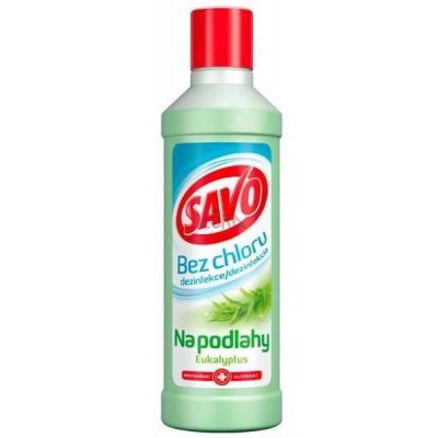 SAVO Bez chloru Dezinfekce na podlahy Eukalyptus 1 l