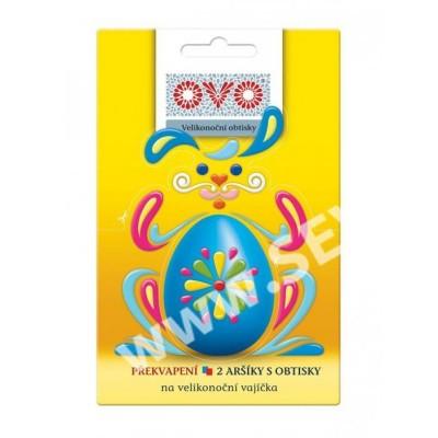 OVO Obtisky na Velikonoční vajíčka Kraslice