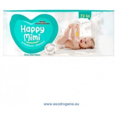 Happy Kinder dětské  vlhčené ubrousky 120 ks