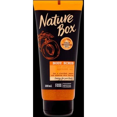 Nature Box Tělový Peeling Apricot Oil 200ml