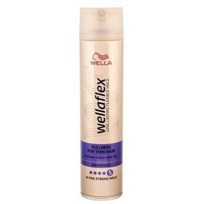 Wella Wellaflex Fullness For Thin Hair Ultra Strong Hold lak na vlasy