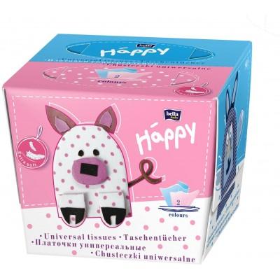 Bella Happy Kosmetické ubrousky 2 x 40 ks