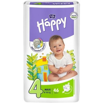 Bella Happy Plenky Maxi 8-18kg 46 ks