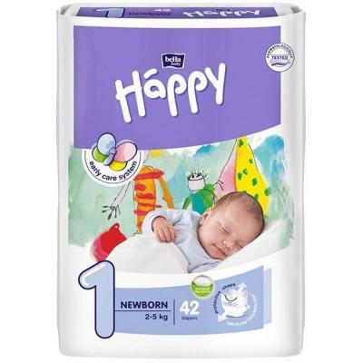 Bella Happy Plenky New Born 2-5kg 42 ks