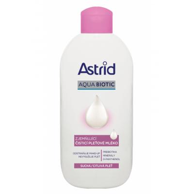 Astrid Soft Skin zjemňující čisticí pleťové mléko pro suchou a citlivou pleť 200 ml