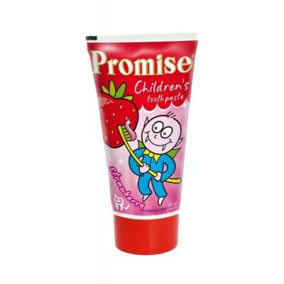 Promise Dětská Zubní pasta Jahoda 50 ml