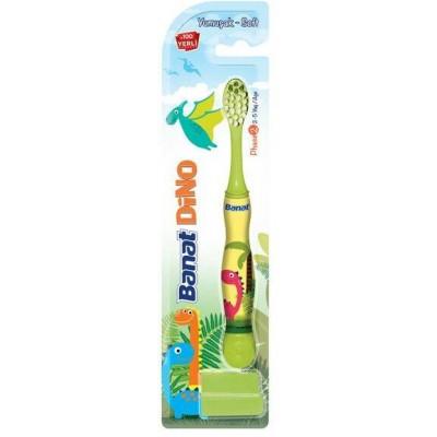 Banat Dětský Zubní kartáček Dino Soft
