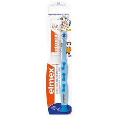 Elmex Dětský Zubní kartáček 0-3 let