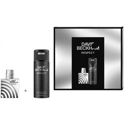 David Beckham Respect EDT 40 ml + deodorant sprej 150 ml (dárková sada)