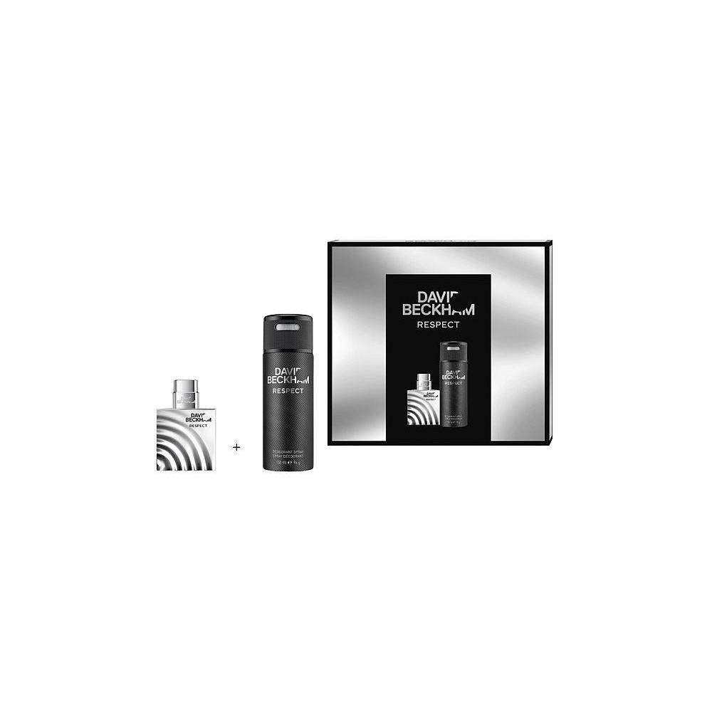 David Beckham Respect EDT 40 ml + deodorant sprej 150 ml (dárková sada)