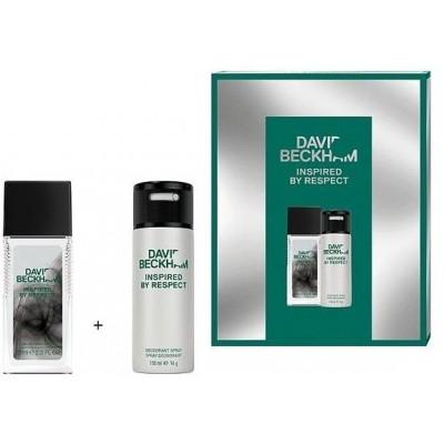 David Beckham Respect Parfémovaný deodorant 75 ml + deospray 150 ml (dárková sada)