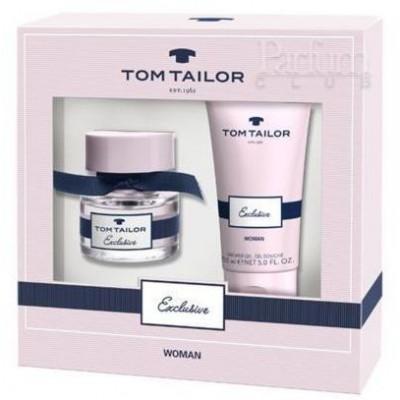 Tom Tailor Exclusive Woman EdT 30 ml + Sprchový gel 150 ml (dárková sada)
