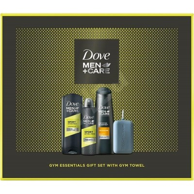Dove Men + Care Sport Active Fresh sprchový gel 250 ml + antiperspirant 150 ml + šampon Thickening 2