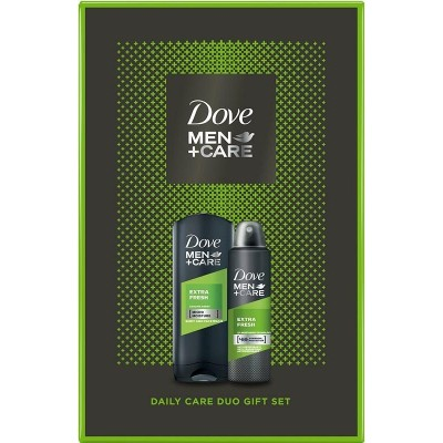 Dove Men + Care Extra Fresh sprchový gel 250 ml + deospray 150 ml dárková sada