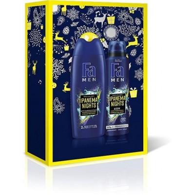 Fa Men Ipanema Nights sprchový gel 250 ml + deospray 150 ml dárková sada