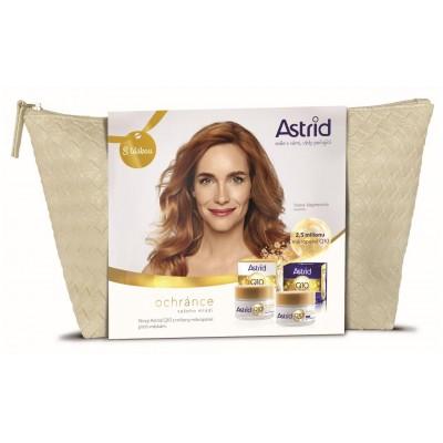 Astrid Q10 denní krém 50 ml + noční krém 50 ml + taštička dárková sada