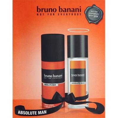 Bruno Banani Absolute deospray pro muže 75 ml + deospray 150 ml (dárková sada)