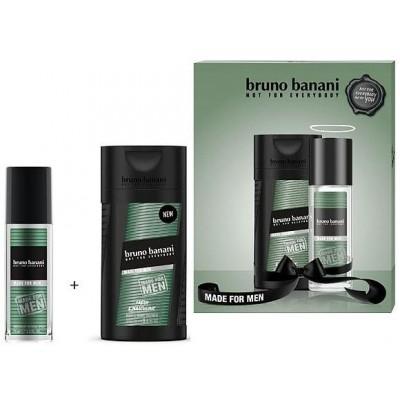 Bruno Banani Made parfémovaný deodorant pro muže 75 ml + sprchový gel 250 ml (dárková sada)
