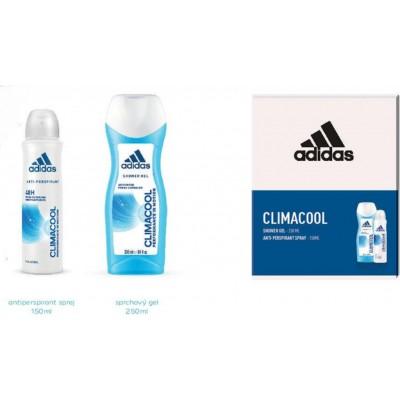 Adidas Climacool antiperspitant deospray 150 ml + sprchový gel 250 ml pro ženy (dárková sada)
