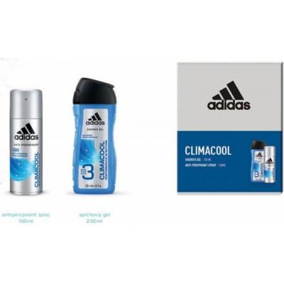 Adidas Climacool antiperspirant deospray 150 ml + 3v1 sprchový gel 250 ml pro muže (dárková sada)