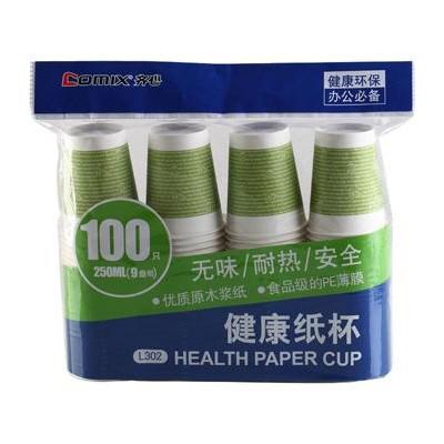Comix Papírový kelímek 250ml 100ks 9oz L302