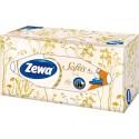 Zewa Softis Kosmetické ubrousky 80 ks, 4-vrstvý, box