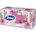 Zewa Deluxe Family papírové kapesníky 90 ks, 3-vrstvý, box