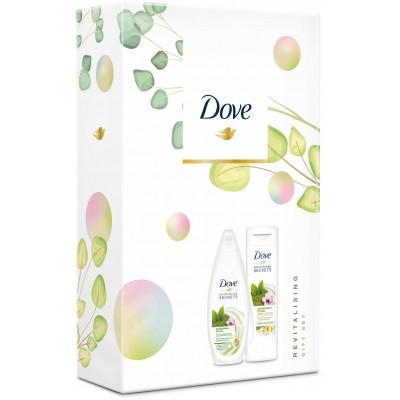Dove Revitalising sprchový gel 250 ml + tělové mléko 250 ml (dárková sada)