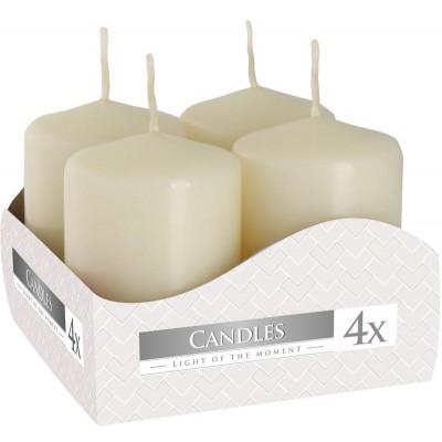 Bispol adventní svíčky 4ks (krémová)